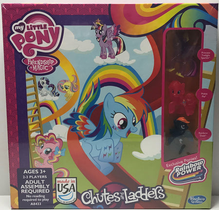 TAS039261 - 2014 Hasbro My Little Pony Chutes And Ladders Game