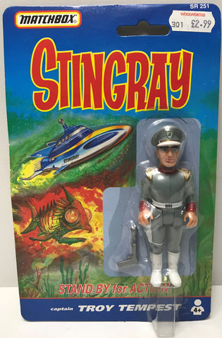 TAS039268 - 1992 Matchbox Stingray Stand By For Action - Troy Tempest