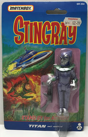 TAS039269 - 1992 Matchbox Stingray Stand By For Action - Titan Evil Sealord