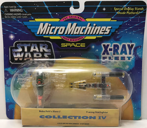 TAS039284 - 1995 Galoob Micro Machines Star Wars X-Ray Fleet Boba Fett