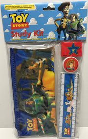 TAS039381 - Disney Toy Story Gift Set - Red Eraser, Pencil Pouch, Sharpener, 6""