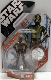 (TAS033551) - 2007 Hasbro Star Wars Fans' Choice Legends Action Figure RA-7, , Action Figure, Star Wars, The Angry Spider Vintage Toys & Collectibles Store  - 1