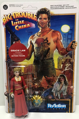 TAS039386 - 2015 Funko ReAction Figures Big Trouble In Little China - Gracie Law