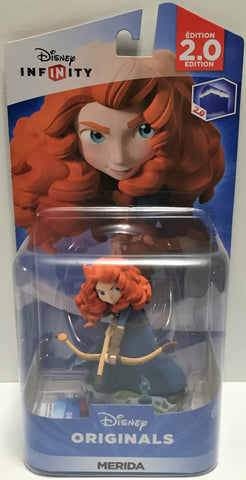 (TAS033557) - 2015 Disney Infinity 2.0 Edition Originals Game Figure Merida, , Video Games, Disney, The Angry Spider Vintage Toys & Collectibles Store  - 1