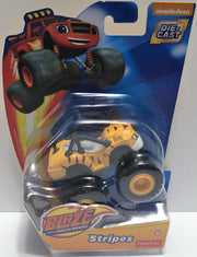(TAS033559) - 2015 Fisher-Price Blaze And The Monster Machines Die-Cast Stripes, , Action Figure, Fisher-Price, The Angry Spider Vintage Toys & Collectibles Store  - 1