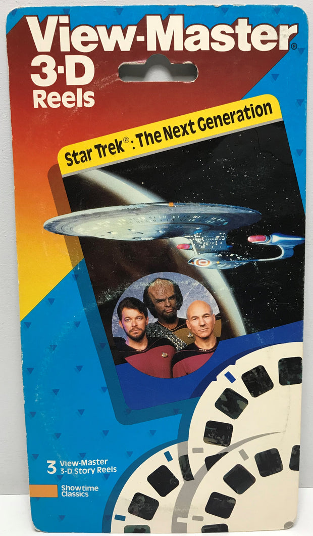 TAS039415 - 1989 View-Master 3-D Reels Star Trek The Next Generation