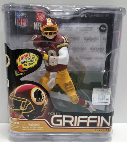 (TAS033569) - 2012 McFarlane Toys NFL Figure Washington Redskins Robert Griffin, , Action Figure, NFL, The Angry Spider Vintage Toys & Collectibles Store  - 1