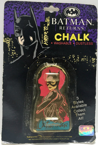 (TAS033576) - 1991 Noteworthy Batman Returns Vintage Chalk Style 2 CatWoman, , Action Figure, Batman, The Angry Spider Vintage Toys & Collectibles Store  - 1