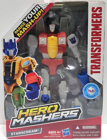 (TAS033577) - 2013 Hasbro Transformers Hero Mashers Action Figure StarScream, , Action Figure, Transformers, The Angry Spider Vintage Toys & Collectibles Store  - 1