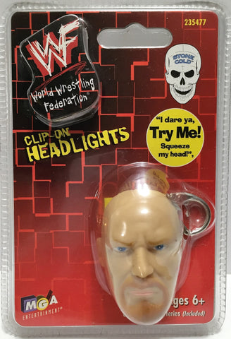 (TAS033583) - 1998 MGA Titan Sports WWF WWE Clip-On Head Lights Stone Cold, , Lights, Wrestling, The Angry Spider Vintage Toys & Collectibles Store  - 1