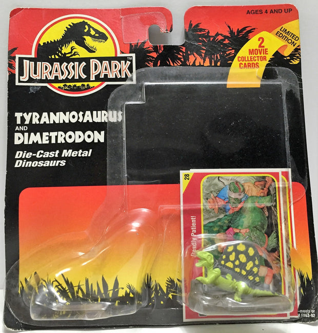 (TAS033586) - 1993 Kenner Jurassic Park Die-Cast Metal Dinosaurs Dimetrodon, , Action Figure, Kenner, The Angry Spider Vintage Toys & Collectibles Store  - 1