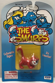 TAS039493 - 1995 Irwin The Smurfs Collectible Figure - Gargamel's Cat Azrael