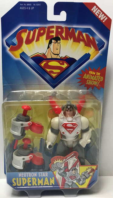 TAS039516 - 1996 Kenner Superman Animated Show - Neutron Star Superman