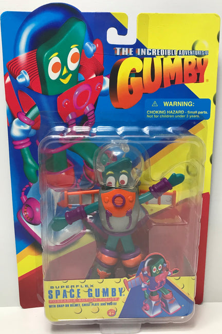 TAS039525 - 1996 Trendmasters The Incredible Advertures Of Space Gumby