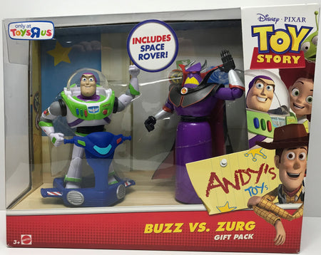 TAS040057 - 2013 Mattel Disney Toy Story - Buzz vs. Zurg Gift Pack