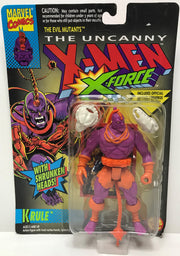 TAS040070 - 1993 Toy Biz Marvel X-Men X-Force Evil Mutants - Krule