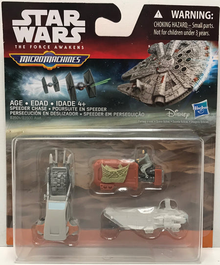 TAS040072 - 2015 Hasbro Star Wars The Force Awakens - Speeder Chase