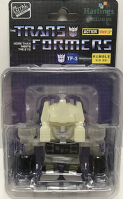TAS040079 - 2015 Hasbro The Transformers Action Vinyls TF-3 Rumble GIF Ed.