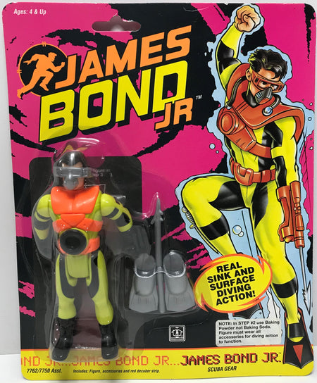 TAS040080 - 1991 Hasbro James Bond JR - James Bond JR. Scuba Gear