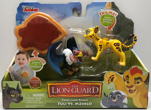 TAS039500 - 2016 Just Play Disney The Lion Guard Pride Land Rivals ...