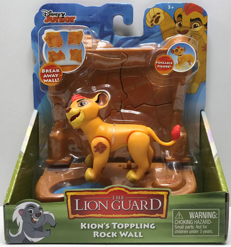 TAS039502 - 2016 Just Play Disney The Lion Guard Kion's Toppling Rock Wall