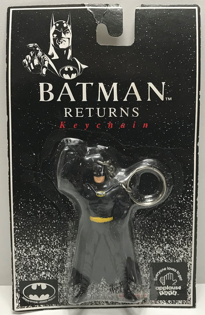 TAS039505 - 1992 Applause DC Comics Batman Returns Keychain - Batman