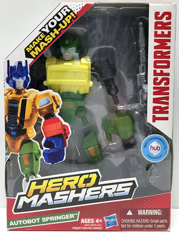 "(TAS034158) - 2013 Hasbro Transformers ""Make your Mash-Up"" Hero Mashers Autobot, , Action Figure, Transformers, The Angry Spider Vintage Toys & Collectibles Store  - 1"