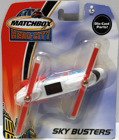 (TAS034162) - 2003 Mattel Matchbox Hero City Sky Busters - Transport Helicopter, , Trucks & Cars, Matchbox, The Angry Spider Vintage Toys & Collectibles Store  - 1