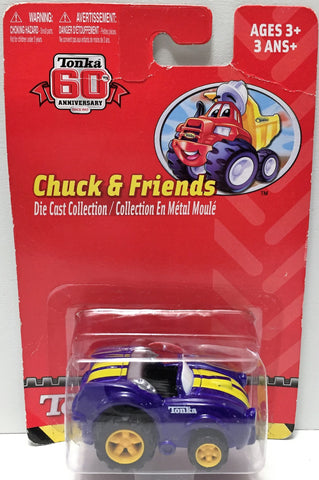 (TAS034161) - 2007 Hasbro Tonka 60th Anniversary Edition Chuck and Friends Truck, , Trucks & Cars, Tonka, The Angry Spider Vintage Toys & Collectibles Store  - 1