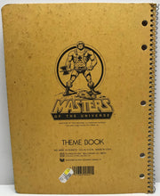TAS040120 - 1983 Mattel Masters Of The Universe Theme Book - Castle Grayskull