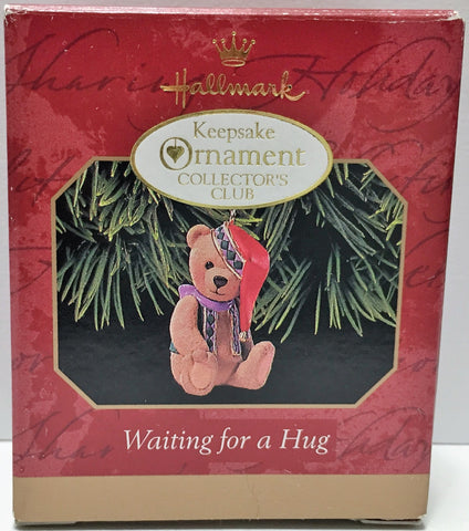 (TAS034157) - 1999 Hallmark Keepsake Ornament Collector's Club Waiting for a Hug, , Ornament, Hallmark, The Angry Spider Vintage Toys & Collectibles Store  - 1