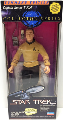 (TAS034148) - 1994 Playmates Star Trek Collector Series Capt James T. Kirk, , Action Figure, Star Trek, The Angry Spider Vintage Toys & Collectibles Store  - 1