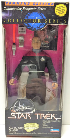 (TAS034145) - 1994 Playmates Star Trek Collector Series Commander Benjamin Sisko, , Action Figure, Star Trek, The Angry Spider Vintage Toys & Collectibles Store  - 1