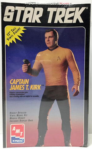 "(TAS034155) - 1994 ERTL Star Trek Capt Kirk Special Collectors Ed. 12"" Vinyl Fig, , Action Figure, Star Trek, The Angry Spider Vintage Toys & Collectibles Store  - 1"