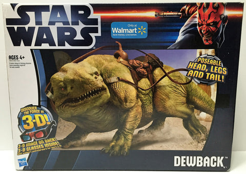 (TAS034154) - 2012 Hasbro Star Wars Poseable Dewback Figure, , Action Figure, Star Wars, The Angry Spider Vintage Toys & Collectibles Store  - 1