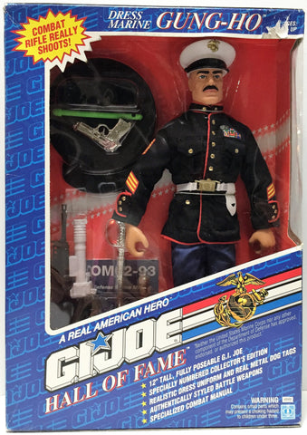 (TAS034153) - 1992 Hasbro G.I. Joe Hall of Fame Dress Marine Gung-Ho 12' Figure, , Action Figure, G.I. Joe, The Angry Spider Vintage Toys & Collectibles Store  - 1