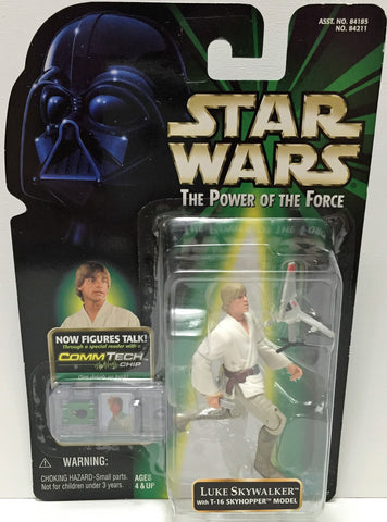 (TAS033607) - 1999 Hasbro Star Wars The Power of the Force - Luke Skywalker, , Action Figure, Star Wars, The Angry Spider Vintage Toys & Collectibles Store  - 1