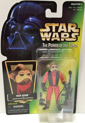 (TAS033601) - 1997 Hasbro Star Wars The Power of the Force Figure - Nien Nunb, , Action Figure, Star Wars, The Angry Spider Vintage Toys & Collectibles Store  - 1