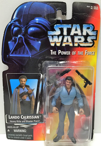 (TAS033609) - 1995 Hasbro Star Wars The Power of the Force - Lando Calrissian, , Action Figure, Star Wars, The Angry Spider Vintage Toys & Collectibles Store  - 1