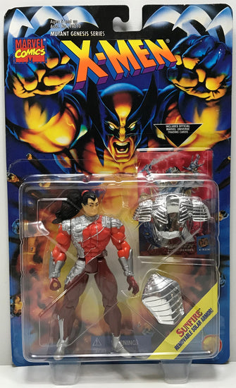 TAS040439 - 1995 Toy Biz X-Men Mutant Series Action Figure - Sunfire