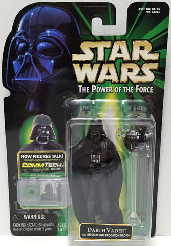 (TAS033596) - 1999 Hasbro Star Wars The Power of the Force Figure - Darth Vader, , Action Figure, Star Wars, The Angry Spider Vintage Toys & Collectibles Store  - 1