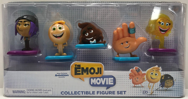 TAS039567 - 2017 Just Play The Emoji Movie Collectible Figure Set