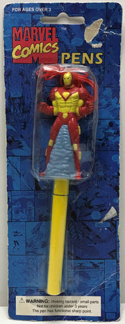 TAS040630 - 1995 Sunkisses Marvel Comics The Avengers Iron Man Pen