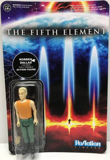 TAS040662 - 2015 Funko ReAction Figures The Fifth Element - Korben Dallas