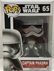 TAS040677 - 2015 Funko Pop! Star Wars Captain Phasma Vinyl Bobble-Head 65