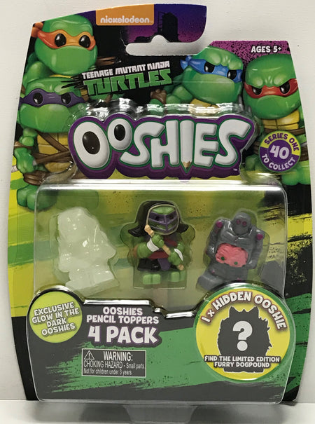 TAS040683 - 2016 Jakks Teenage Mutant Ninja Turtles Ooshies Pencil Toppers