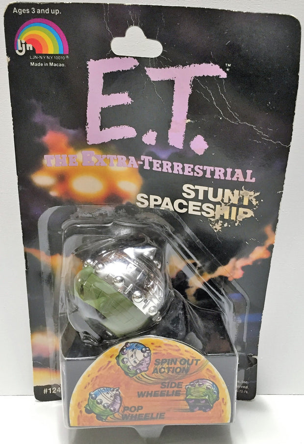 (TAS033632) - 1982 Universal The Extra-Terrestrial Action Figure Stunt Spaceship, , Action Figure, E.T., The Angry Spider Vintage Toys & Collectibles Store  - 1