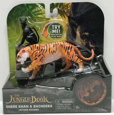 TAS040697 - 2016 Just Play Disney The Jungle Book Shere Khan & Bagheera