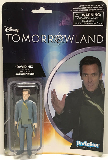 TAS040709 - 2015 Funko ReAction Figure Disney Tomorrowland - David Nix