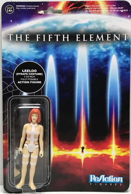TAS040711 - 2015 Funko ReAction Figure The Fifth Element - LeeLoo Straps